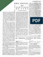 Problema Racial en Santiago de Cuba 1959 Revista de La UNAM