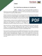 NP ViewSonic capacita a Tech Data en soluciones de visualización (F)