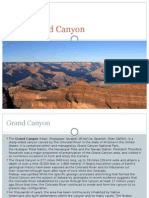 English Project About Grand Canyon