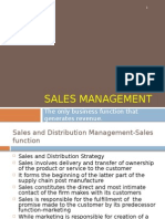 Sales Management Chapter 1