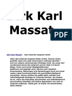 Dirk Karl Massat - Reputationmanagement