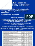 Sergio Valdir Bajay - Energy Efficiency in the Brazilian Industry