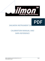 Calibration Manual and Data Reference