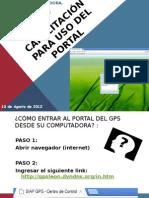 Capacitacion Del PORTAL