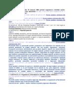 ORDONANŢĂ Nr. 42 Din 29 Ianuarie 2004 Privind Organizarea Activităţii Sanitar-Veterinare Şi Pentru Siguranţa Alimentelor