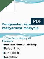 Pengenalan Kepada Masyarakat Malaysia