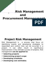 5-Project Risk  & Procurement Management.ppt