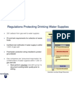 Regulations Protecting Drinking Water Supplies