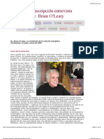 Proyecto Camelot   Transcripción Brian O'Leary