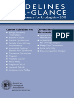 Guidelines at a Glance AUA 2011 1