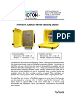 AirPhoton Sampling Station Fact Sheet
