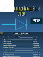 Diodes notes