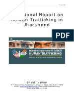 Situational Report on Human Trafficking in Jharkhand  Jharkhand Draft Report