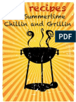 16 Recipes for Summertime Chillin and Grillin - Tony Trent