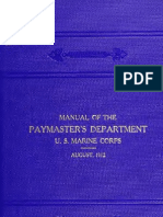 (1912) Manual of the Paymaster's Department