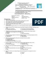 Soal Uas Plh Kelas Viii 2013-2014