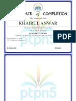 sertifikat kairul