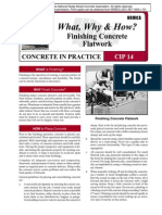 CIP14-Finishing Concrete Flatwork