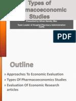 Types of PE Studies