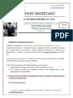 Company Secretary- Series- 37