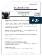 Director Report- Series- 34