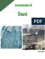 Unkonventionelles Öl Ölsand Und Schweröle