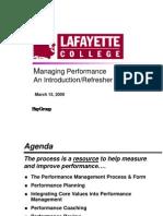 HayGroup Managing Performance