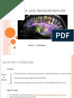 COURS 1 L1 Neurosciences