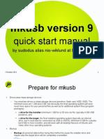 MkUSB Quick Start Manual