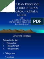 50 Anatomi Dan Fisiologi Tht-kl Dr.nurman