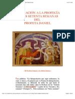 Ampliación a la Profecía de las Setenta Semanas del Profeta Daniel