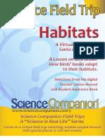 Science Companion Habitats Field Trip