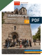 Stadtführungen Braunschweig, Sommer