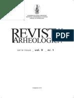 Revista Arheologica, vol. V, nr. 1, Chişinău 2010