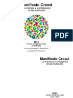Crowdfunding - Manifiesto Crowd