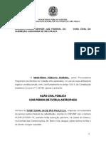 Acao Civil Publica - SBT - Cumprimento Da Classificacao Etar
