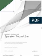 Speaker Sound Bar Lsb316