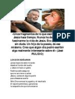 José Pulido Con Fragmentos Dedicados a Jesucristo