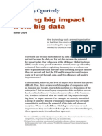 Getting Big Impact From Big Data