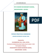 1.EM +2 Physics practical guide contents