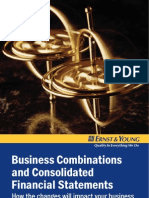 business combinations & consolidated financial statements