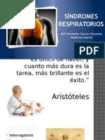 Medicina Interna - Síndromes Respiratorios - MIP Cuevas