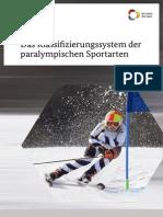 Das Klassifizierungssystem der paralympischen Sportarten