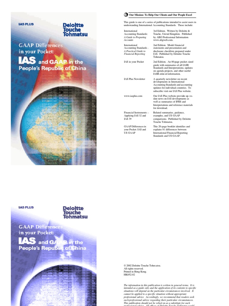 ifrs in china Ias/ifrs in china mirrors the development of chinese economic and capital markets, and appears to be progressing towards international accounting harmonization.