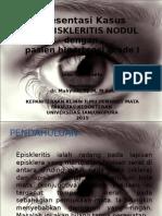 episkleritis nodul