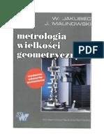 Ksiażka -  Metrologia Wielkosci Geometrycznych
