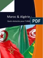 Maroc-Algérie Quel avenir pour l'UMA