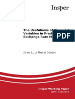 Financial Variables to Predict Exchange Rates Movements