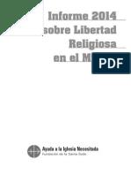 AIN Informe Libertad Religiosa 2014
