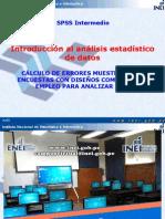 spss introduccion Analisis Estadistico Datos